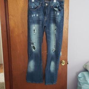 Mens Black Premium Jean's